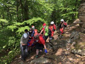 Einsatz Kienstockspitze