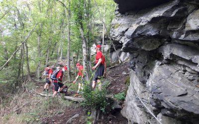 Einsatz im Waldviertel – Burg Hartenstein