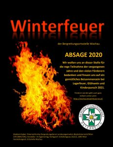 Absage Winterfeuer